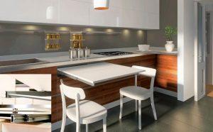 Accesorios para muebles de cocina 2016 lasan decoraci n - Mesa extraible cocina ...