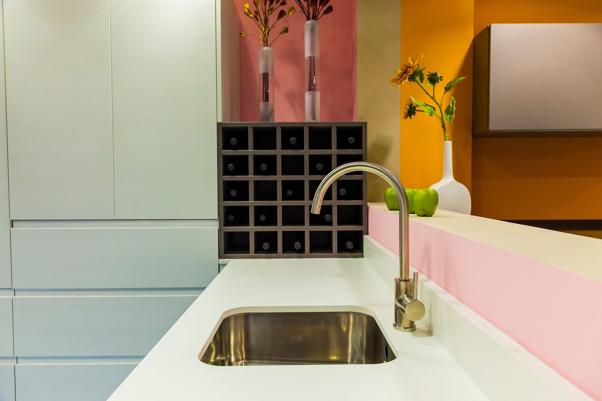 Detalle cocina en alcala lasan lasan decoracion - Muebles de cocina lasan ...
