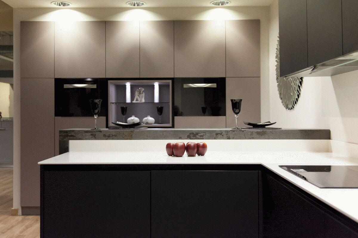 Novedades en muebles de cocina lasan guadalajara for Muebles de cocina negro