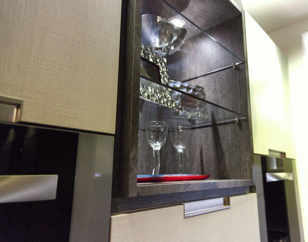 Expositor integrado en la cocina lasan decoracio guadalajara lasan decoracion - Lasan cocinas guadalajara ...