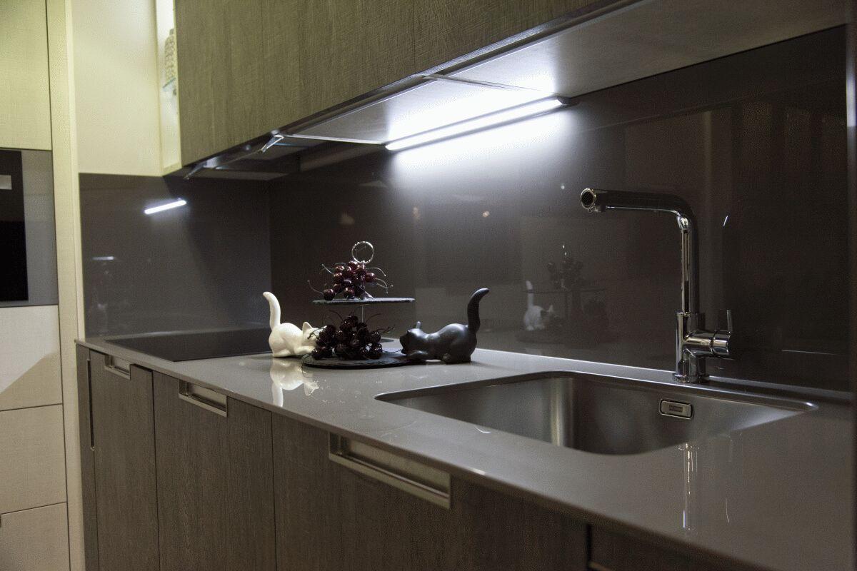 iluminacion led para muebles de cocina - LASAN DECORACION