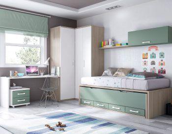 dormitorio juvenil modelo formas.051