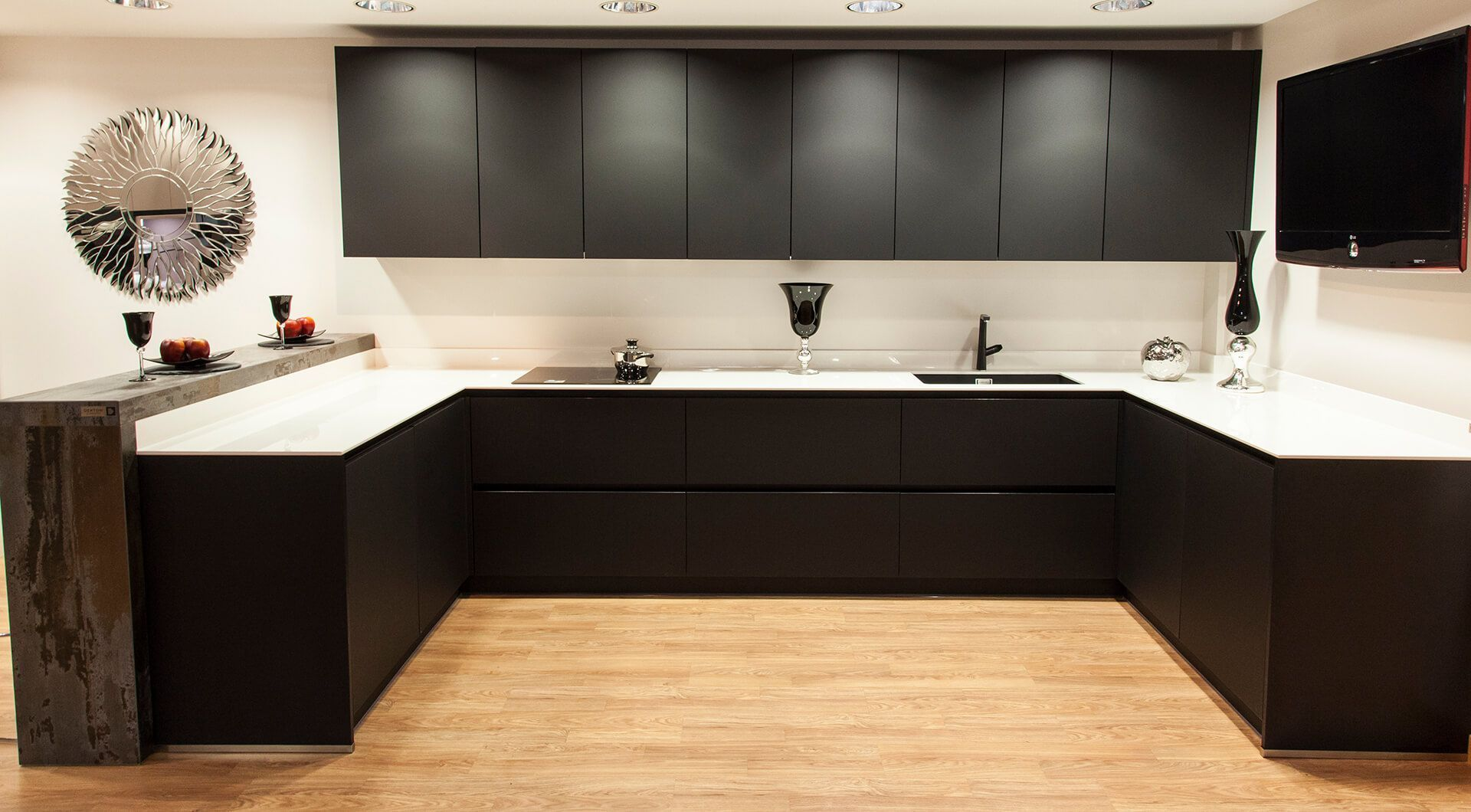 Muebles de cocina fenix b lasan decoracion - Muebles de cocina lasan ...