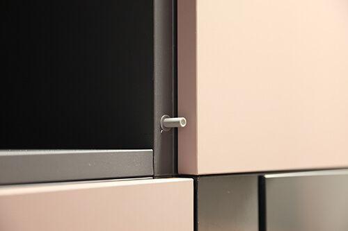 Sistema push cocina fenix lasan decoracion for Muebles de cocina fenix