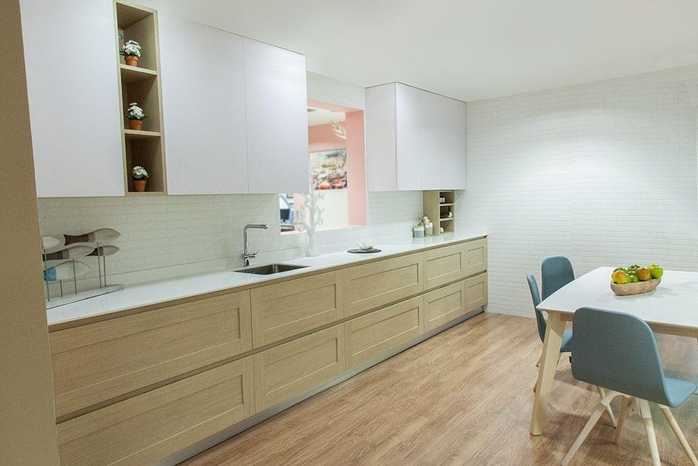 Cocinas de lea modernas elegant banners modernos de - Muebles de cocina pontevedra ...
