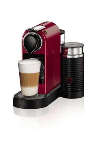 Cafetera KRUPS xn7605 citiz&milk roja