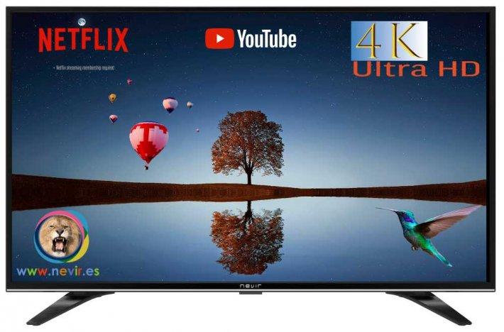 Televisor SMART TV NEVIR NVR9000434K2SM